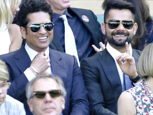 Sachin Tendulkar,Viral Kohli,Wimbledon