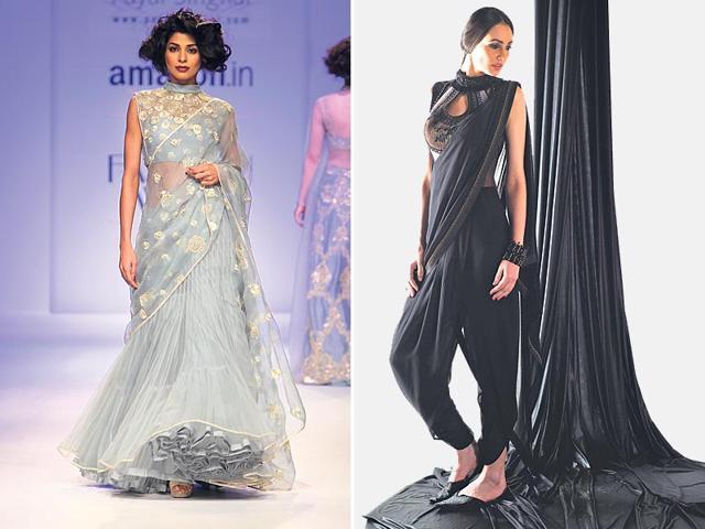 Sari Fashion,Sari Style,Fashion