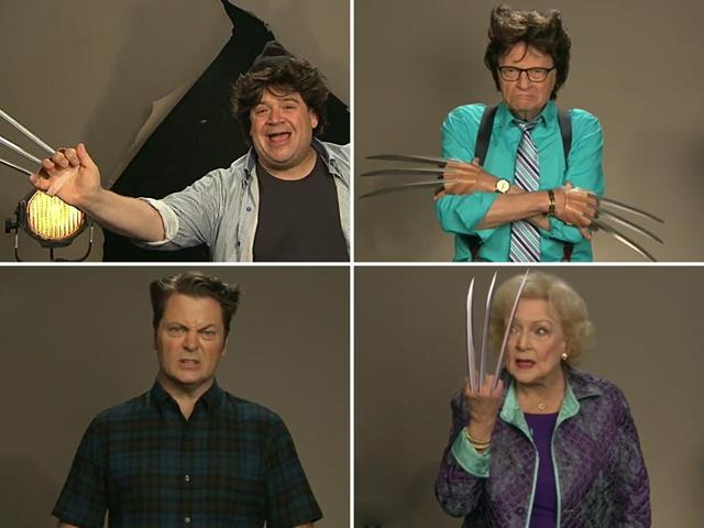 Conan O'Brien conducts hilarious auditions for the next Wolverine. (YouTube)