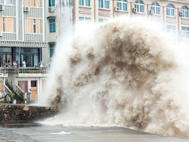 China,super typhoon,Chan-hom