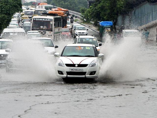 monsoons,water clogging,Chandigarh
