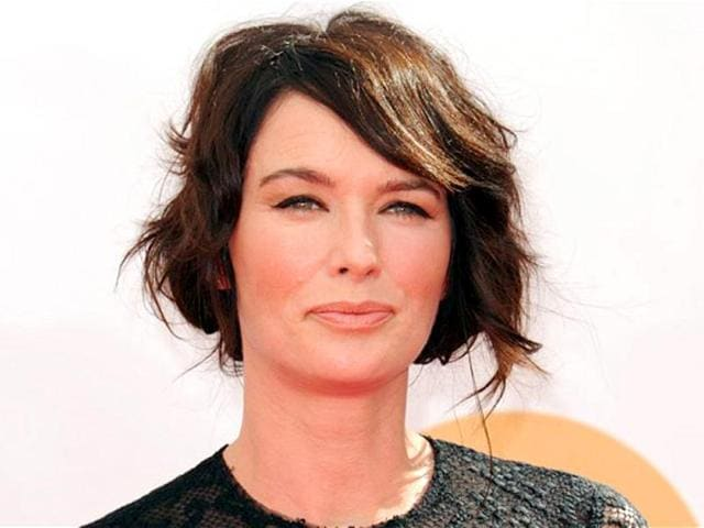 Lena Headey plays evil queen Cersei Lannister in HBO series Game of Thrones. (AFP Photo)