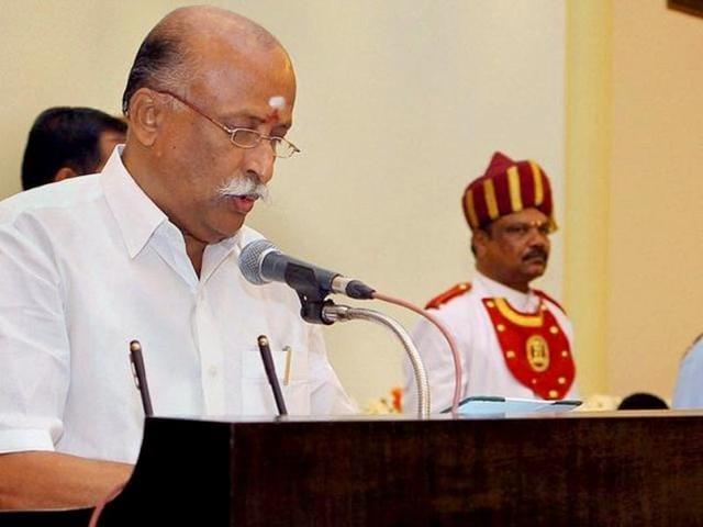 Former Tamil Nadu minister and AIADMK MLA P Chendur Pandian. (PTI File Photo)