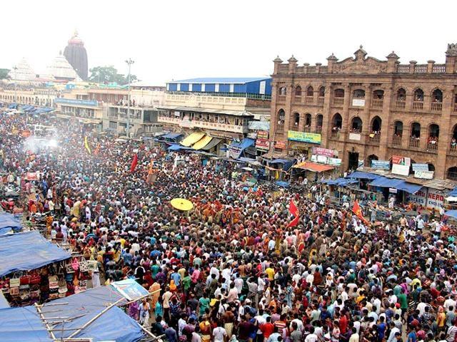 Nabakalebara Ratha Yatra
