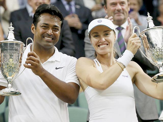 Leander Paes,Sania Mirza,Wimbledon 2015