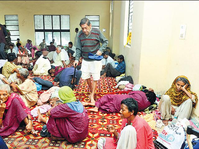 New Delhi,Destitute,Delhi shelter home