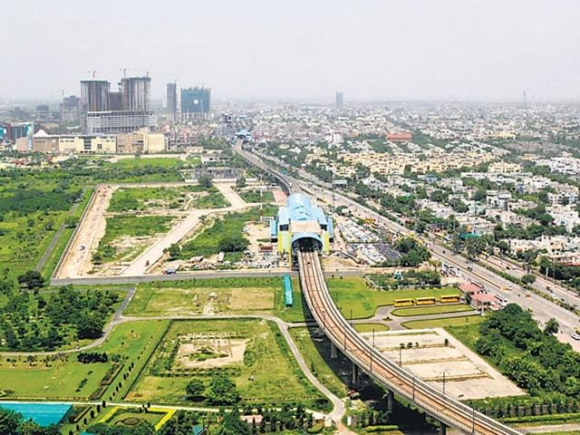 Noida,Botanical Garden,Botanical Garden of Indian Republic