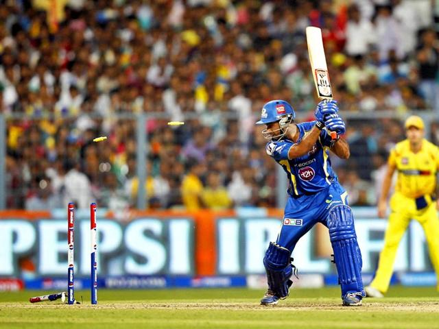 The 2013 IPL season was mired in controversy after police launched legal proceedings against several officials and cricketers for illegal betting and spot-fixing. (HT File Photo)
