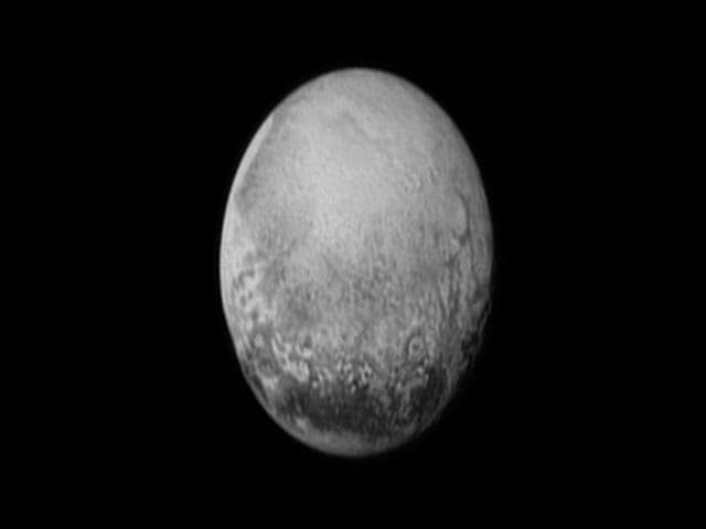 Pluto pictured from a million miles away on July 11. (Reuters Photo)