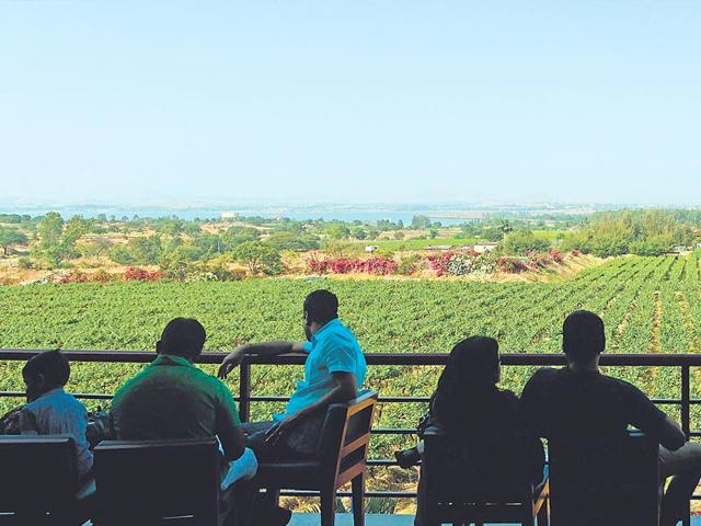 According to experts the wine travel market in india is growing by 25%.