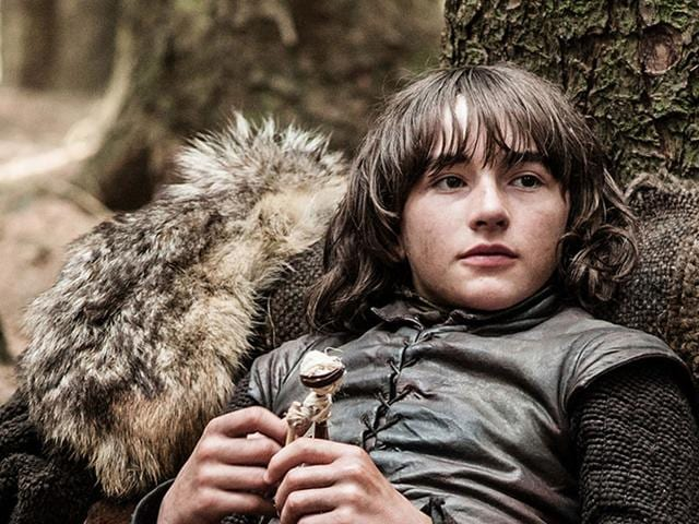 Isaac Hempstead Wright as Bran Stark in a still from Game of Thrones. (HBO)