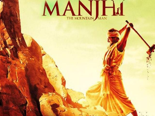 Nawazuddin Siddiqui in and as Mountain Man in this poster. The film is based on the life of Dashrath Manjhi. (Courtesy: Twitter/@Nawazuddin_S)
