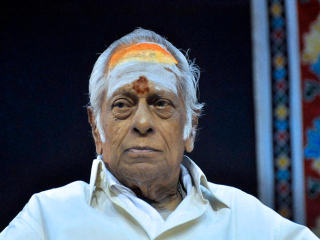 Composer MS Viswanathan died on Tuesday morning. The renowned artist, known fondly as MSV, has composed music for Tamil, Telugu and Malyalam films.