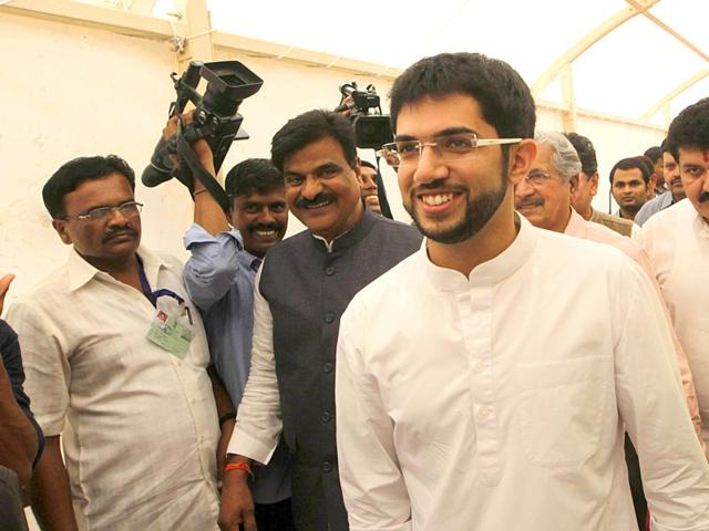 Aditya Thackeray,Shiv Sena,Uddhav Thackeray
