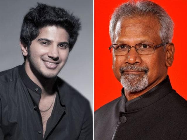 Image result for dulquer and mani ratnam