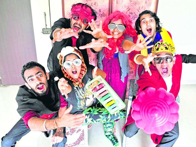 Murgistaan is inspired by Satyajit Ray's Hirak Rajar Deshe, an iconic movie that is part of the hugely popular Goopy Gyne Bagha Byne trilogy. (Vidya Subramanian/HT photo)