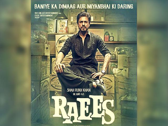 Raees is an Excel Entertainment production starring Shah Rukh Khan, Mahira Khan and Nawazuddin Siddiqui and is directed by Rahul Dholakia. (iamsrk/Twitter)