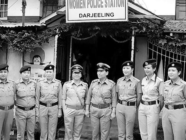 Darjeeling,All-woman police station,First
