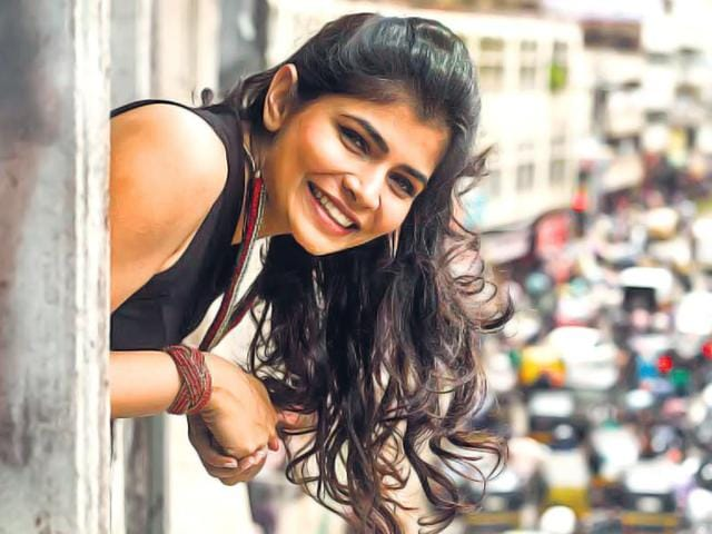 Chinmayi Sripada is getting used to item numbers now. (HT Photo)
