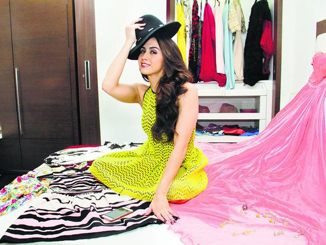 Dancer-actor Lauren Gottlieb has a high-heel fetish; recalls shopping at Salvation Army stores while growing up. (Pramod Thakur/HT photo)