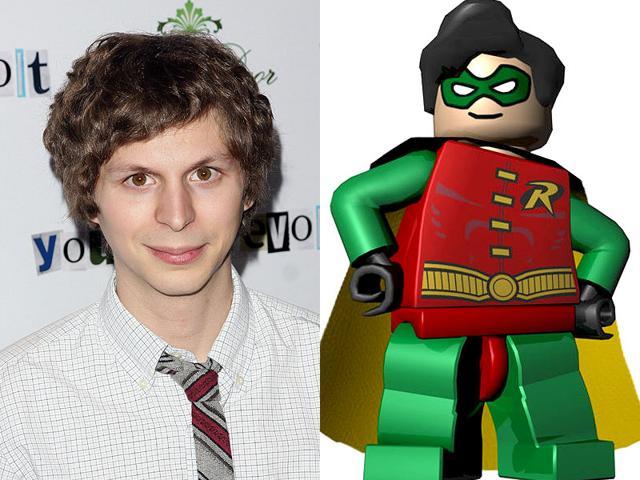 Michael Cera will voice Lego Robin in the Lego Batman movie. (Shutterstock/Twitter)