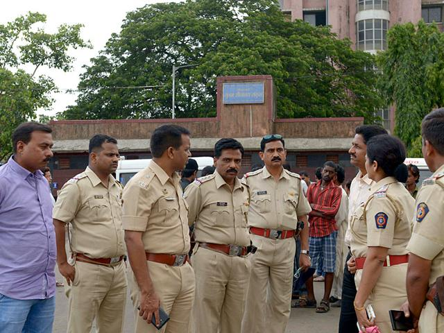 Yakub Memon, the 1993 Mumbai serial bomb blasts convict, at a TADA court. (Kunal Patil/HT file photo)