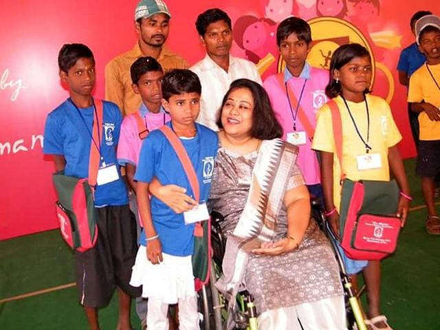 Wheelchair-bound Sruti Mohapatra was barred from becoming an IAS officer 28 years ago. (File Photo)