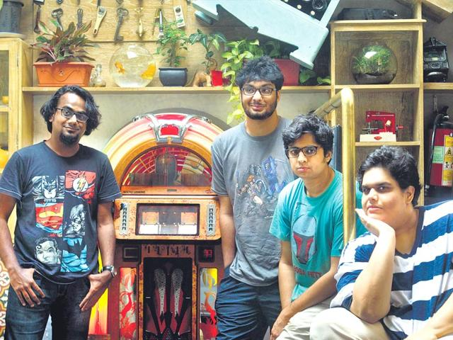 As HT Mumbai turns 10, we look back at the decade gone by through the eyes of four talented young stand-up comedians — Tanmay Bhat, Rohan Joshi, Gursimran Khamba and Ashish Shakya. (Satish Bate/HT Photo)