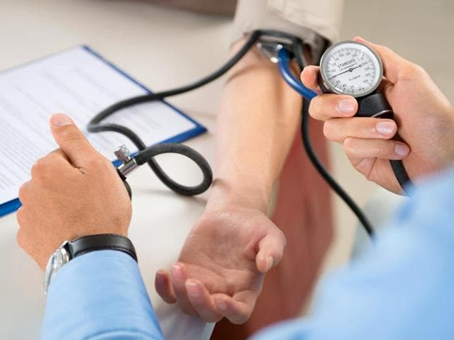 In a study, participants with high blood pressure at midlife scored more poorly on tests of attention and executive function later in life. (Shutterstock photo)