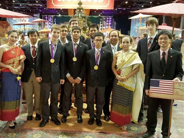 US,International Mathematical Olympiad,Indian-origin students
