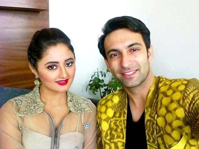 Rashmi Desai and Nandish Sandhu are currently participating in dance reality show Nach Baliye 7. (Twitter)
