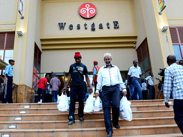 Kenya's Westgate shopping mall reopened for business on July 18, almost two years after Somali Islamists stormed in and massacred 67 shoppers and staff in four days of carnage. (AFP Photo)