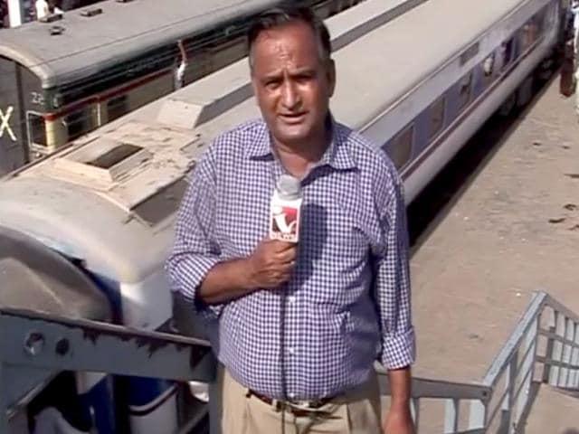 Pakistani television journalist Chand Nawab. (HT Photo)