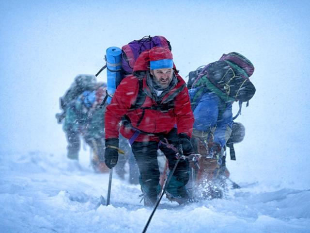 Everest has been directed by Icelandic actor-director Baltasar Kormakur and stars Jason Clarke, Josh Brolin, John Hawkes, Robin Wright, Michael Kelly, Sam Worthington, Keira Knightley, Emily Watson and Jake Gyllenhaal.