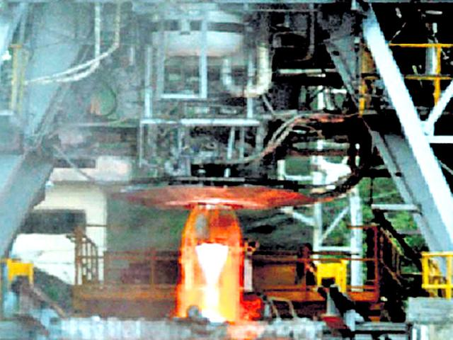 The indigenously-developed high thrust cryogenic rocket engine was successfully tested for 800 seconds by Isro. (Isro handout)