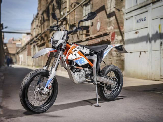 KTM Freeride E SM. Photo:AFP