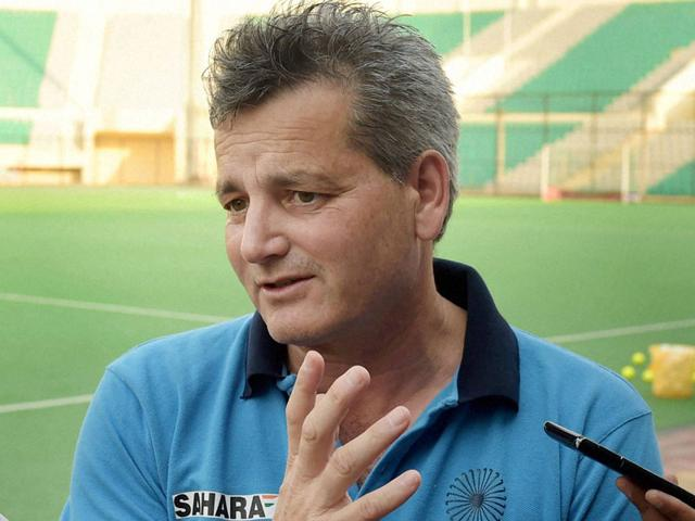 Paul van Ass, India's men's national field hockey team coach, claimed on July 20, 2015 he has been fired by Hockey India following his public altercation with federation president. (PTI Photo)