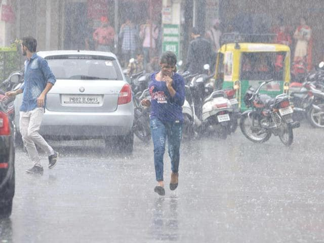 Monsoons,rains,Chandigarh
