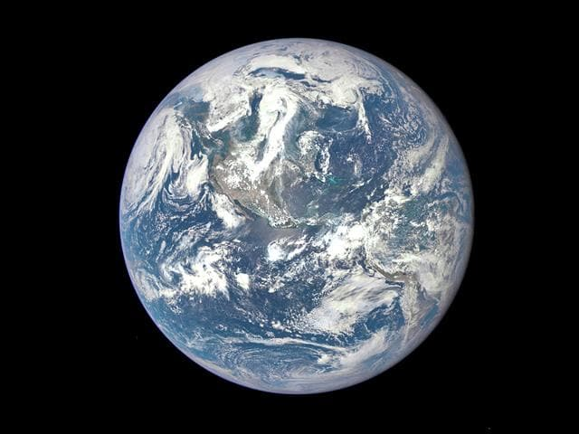 Nasa Epic picture of the Earth