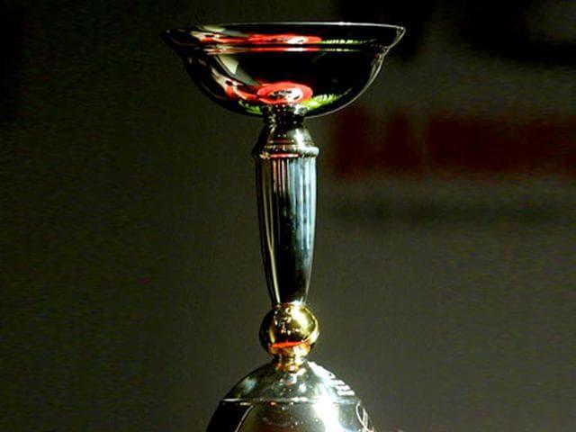 ICC Under-19 World Cup Trophy.