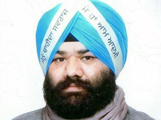 AAP leader Himmat Singh Shergill. HT Photo