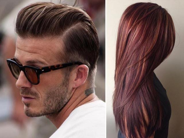 David Beckham hair for boys and stylish highlights for girls are so in this season. (Photos: Instagram)