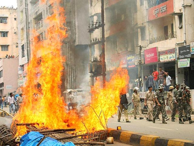 Jamshedpur,Low intensity bomb explosion in Jamshedpur