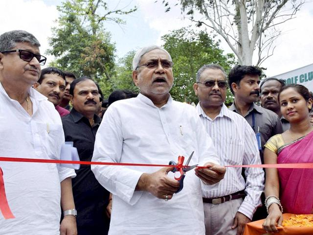 While-Lalu-Prasad-left-and-Nitish-Kumar-are-alliance-partners-BJP-needs-a-strong-offensive-in-the-upcoming-Bihar-elections-HT-File-photo