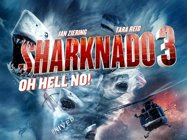 It is George RR Martin's turn to become shark meal in Sharknado 3.