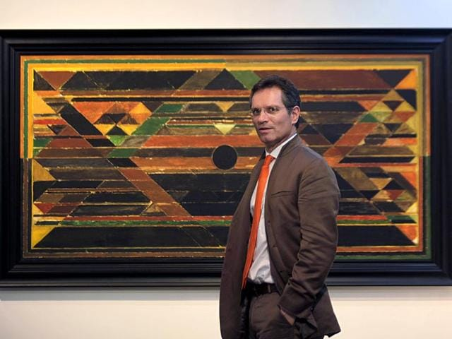 Hugo Weihe will work towards building a market for Indian art and antiquities around the world. (Kunal Patil/HT photo)