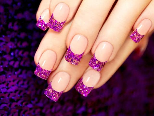Don't panic if a manicured nail chips. We tell you how to fix the problem. (Shutterstock Photo)