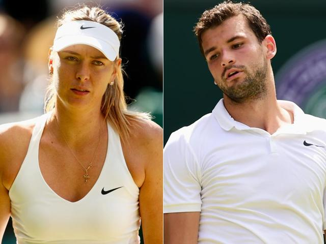 """""""Our paths split,"""" Grigor Dimitrov said of his relationship with Maria Sharapova, on Friday. (Getty Images)"""