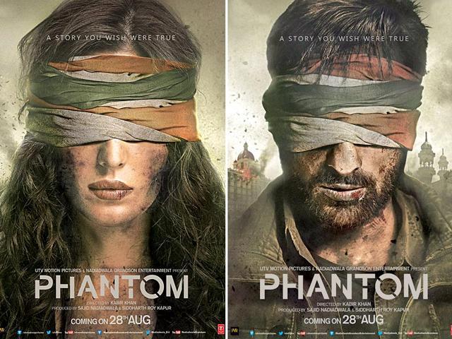 Kabir Khan tweeted Phantom's posters.