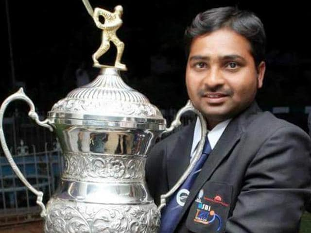 Shekar Naik, the captain of the national blind cricket team, is the highest run-getter among all blind cricketers in the world. He has played 63 matches across all formats and scored 32 centuries and 15 half-centuries. (File Photo)
